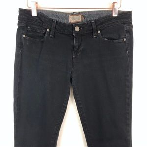 PAIGE Jeans - Paige Black Blue Heights Low Rise Skinny Jeans 29